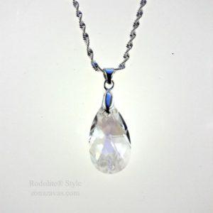 Колие Pear Shaped SWAROVSKI® Crystal Moonlight