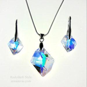 Комплект Cosmic SWAROVSKI® Cristal AB